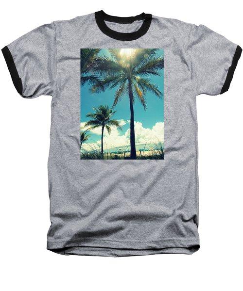 Miami Beach Baseball T-Shirt by France Laliberte