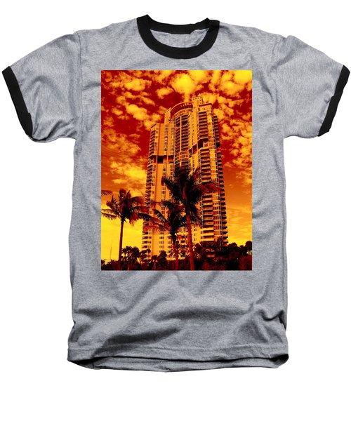 Miami South Pointe IIi Highrise Baseball T-Shirt