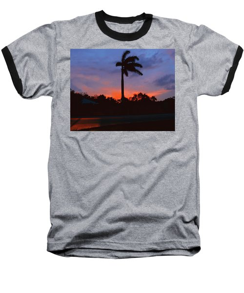 Miami Sunset Baseball T-Shirt