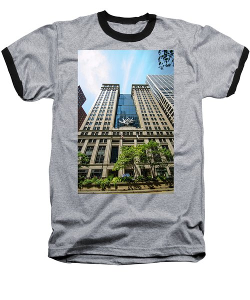 Baseball T-Shirt featuring the photograph Michael A Bilandic Building Chicago by Deborah Smolinske