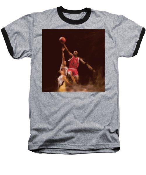 Michael Jordan 548 2 Baseball T-Shirt