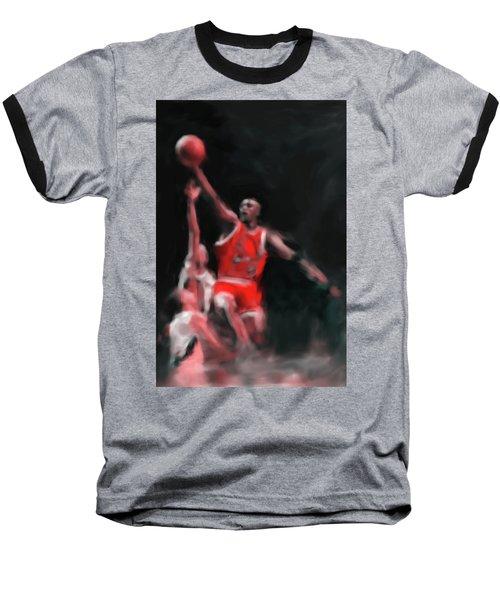 Michael Jordan 548 3 Baseball T-Shirt