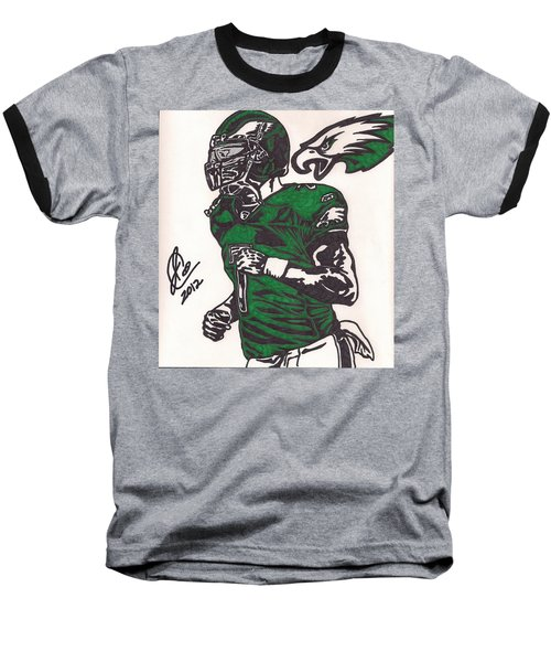 Baseball T-Shirt featuring the drawing Micheal Vick by Jeremiah Colley