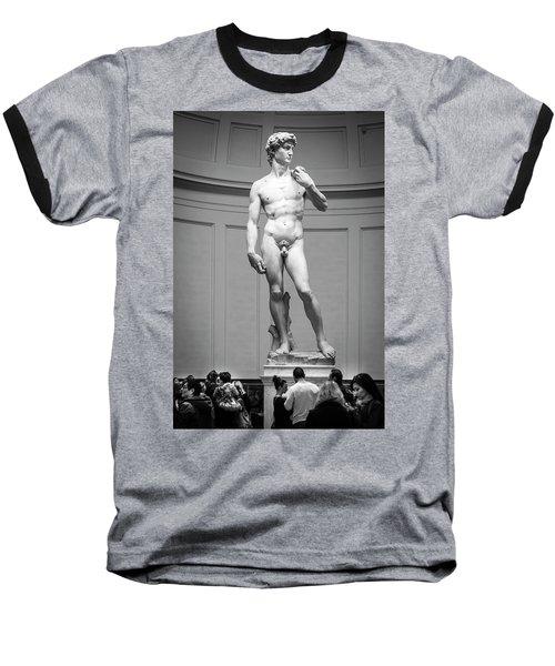 Michelangelo's David Baseball T-Shirt