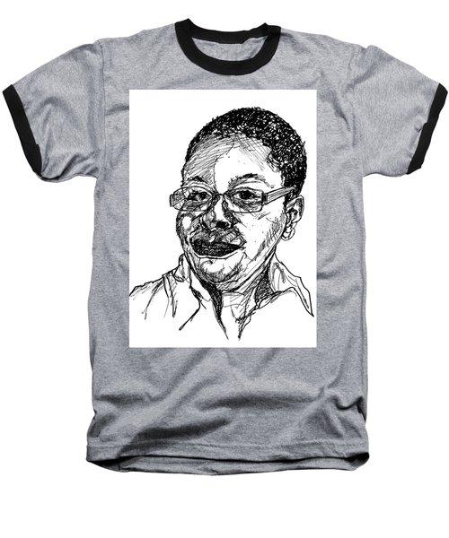 Michelle Caricature Baseball T-Shirt