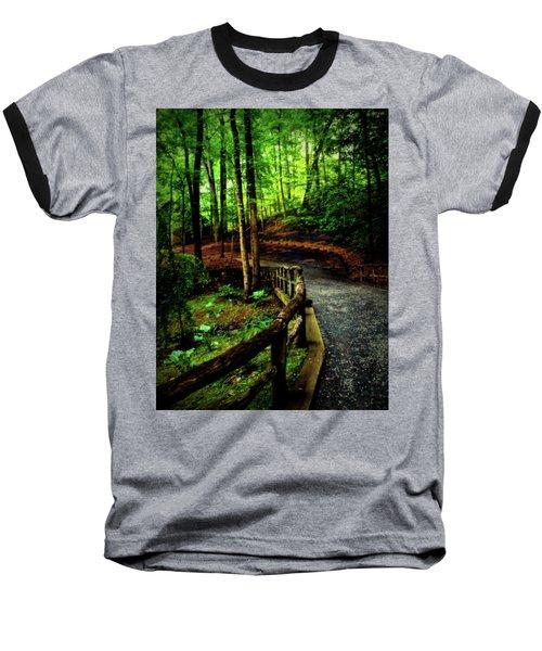 Michie Tavern No. 3 Baseball T-Shirt by Laura DAddona