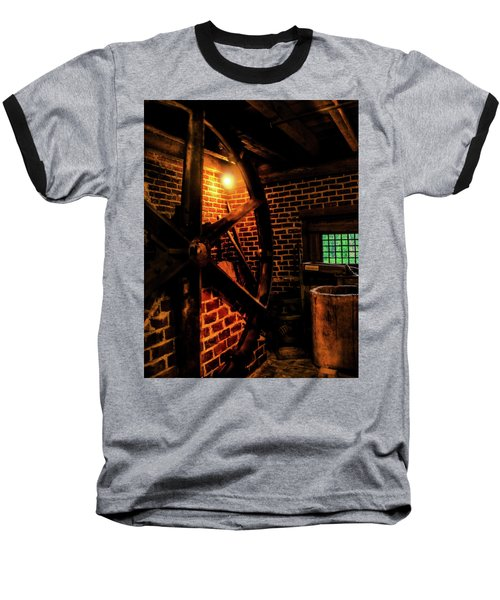 Michie Tavern No. 4 Baseball T-Shirt by Laura DAddona
