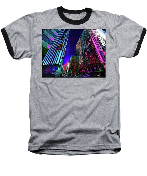Michigan Avenue, Chicago Baseball T-Shirt