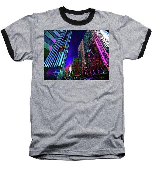 Michigan Avenue, Chicago Baseball T-Shirt