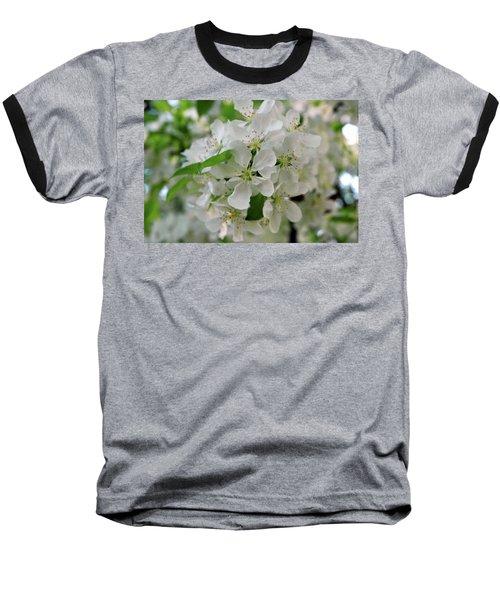 Baseball T-Shirt featuring the photograph Michigan State Flower by LeeAnn McLaneGoetz McLaneGoetzStudioLLCcom