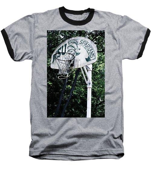 Michigan State Practice Hoop Baseball T-Shirt