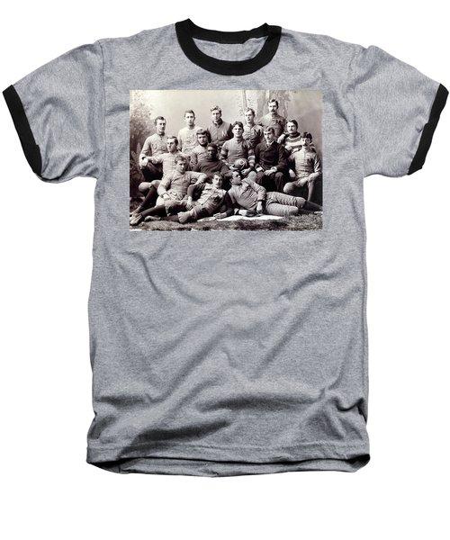 Michigan Wolverine Football Heritage 1890 Baseball T-Shirt