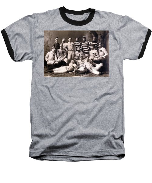 Michigan Wolverines Football Heritage 1888 Baseball T-Shirt