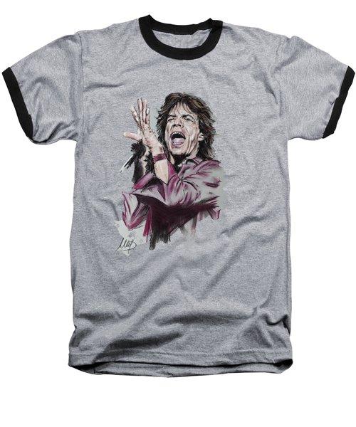 Mick Jagger Baseball T-Shirt