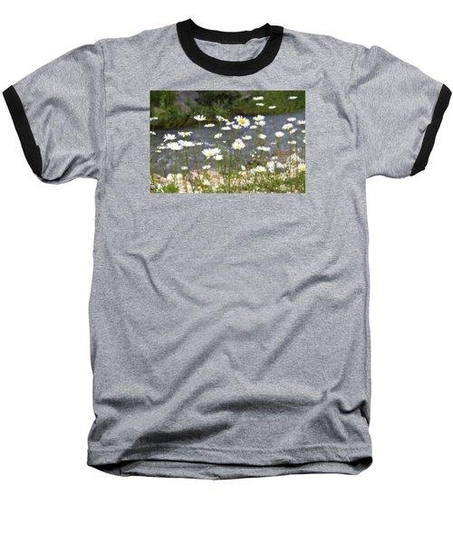 Mickelson Trail Daisies Baseball T-Shirt