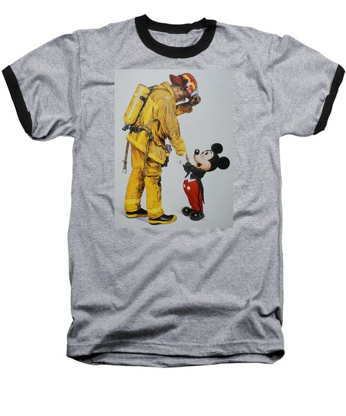 Mickey And The Bravest Baseball T-Shirt by Rob Hans