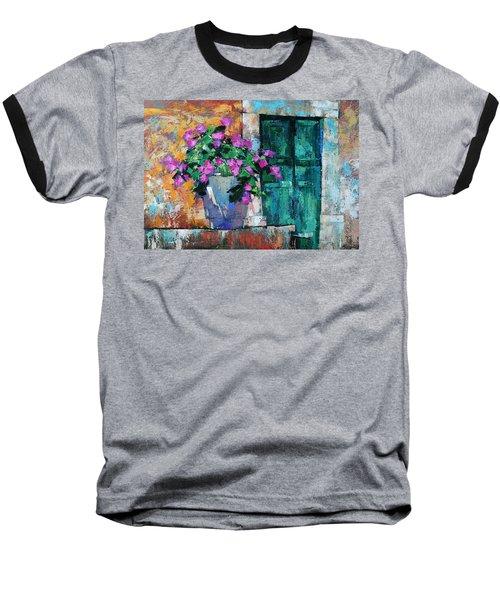 Mid Summer Baseball T-Shirt by Anastasija Kraineva