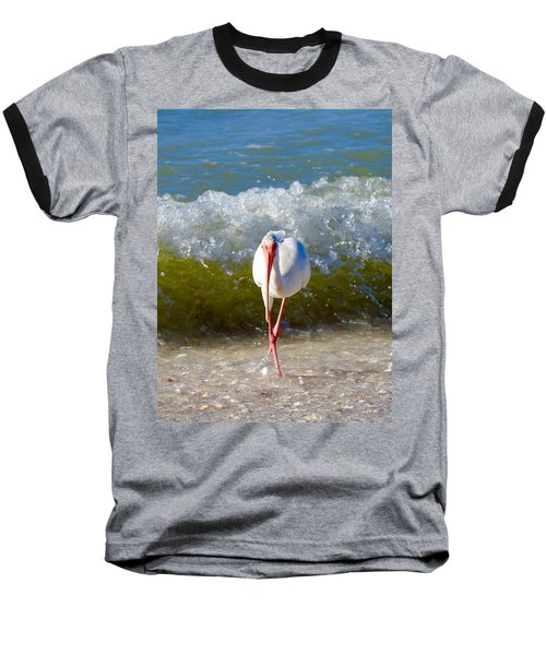 Mid Wave Feeding Baseball T-Shirt