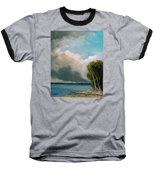 Midday Clouds Baseball T-Shirt