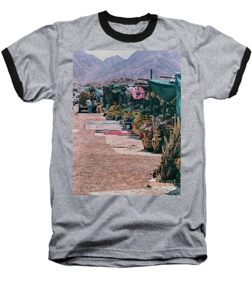 Middle-east Market Baseball T-Shirt