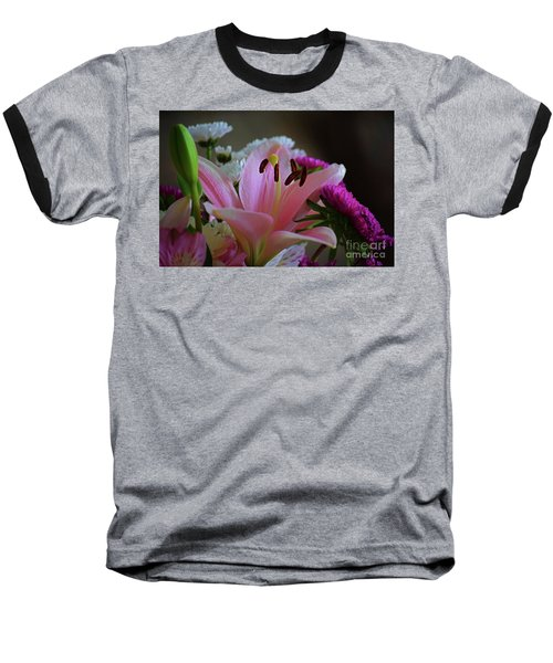 Middle Lily Baseball T-Shirt