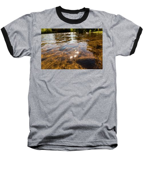 Middle Of The River Baseball T-Shirt