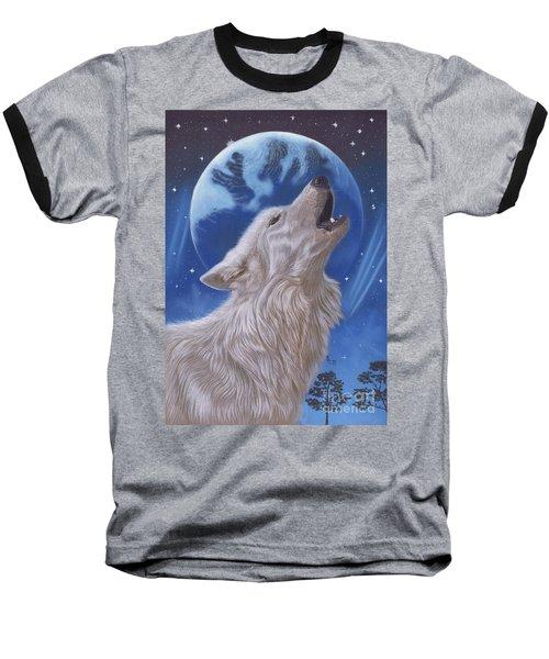 Midnight Caller Baseball T-Shirt