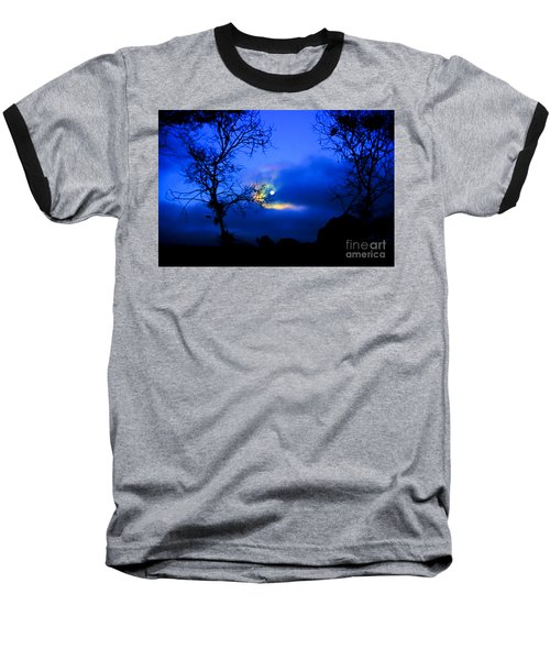 Midnight Clouds Baseball T-Shirt
