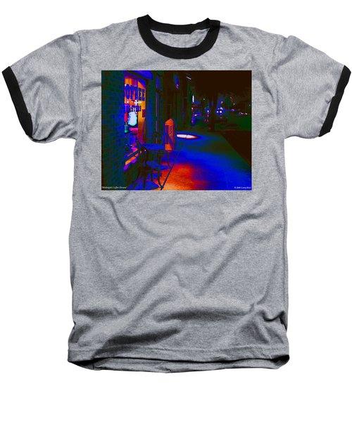 Midnight Coffee Dream Baseball T-Shirt
