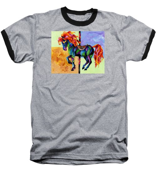 Midnight Fire Baseball T-Shirt
