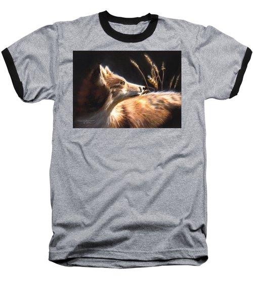 Midnight Fox Baseball T-Shirt