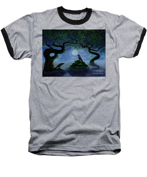 Midnight Green Baseball T-Shirt