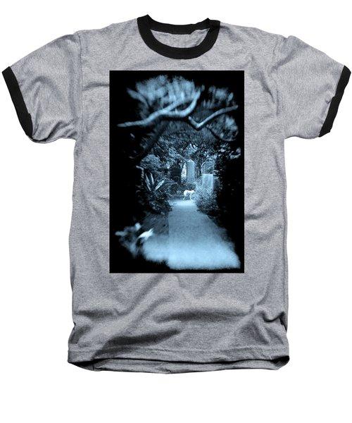 Midnight In The Garden O Baseball T-Shirt