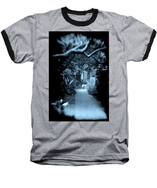 Midnight In The Garden O Baseball T-Shirt