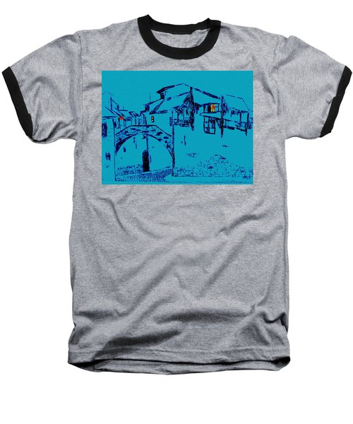 Midnight In Tuscany Baseball T-Shirt