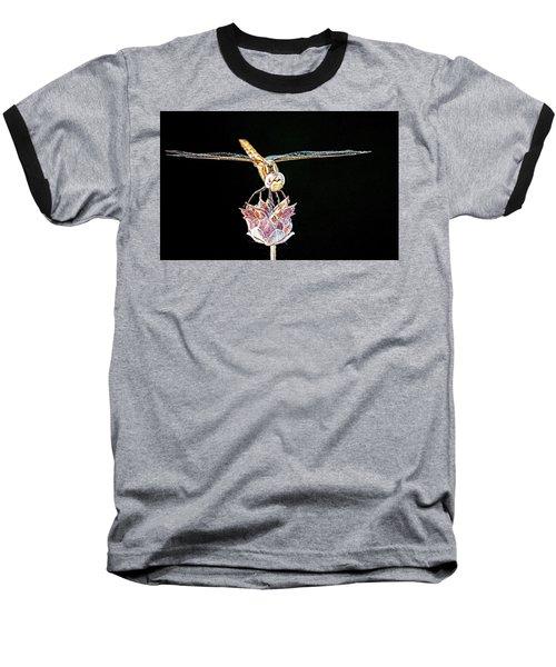 Midnight Landing Baseball T-Shirt