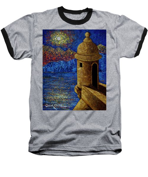Midnight Mirage In San Juan Baseball T-Shirt
