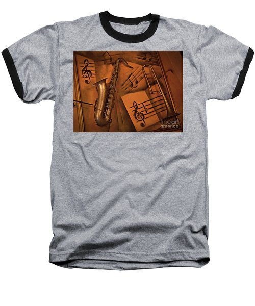 Midnight Music Baseball T-Shirt