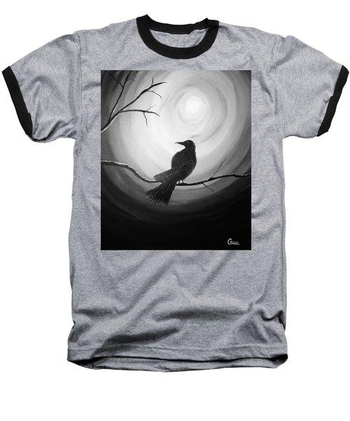 Midnight Raven Noir Baseball T-Shirt