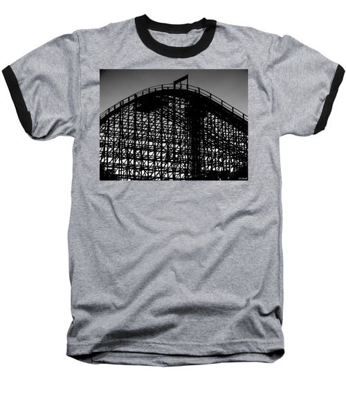 Midnight Ride Baseball T-Shirt