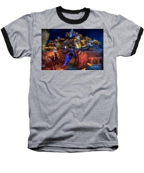 Midnight Splash Baseball T-Shirt