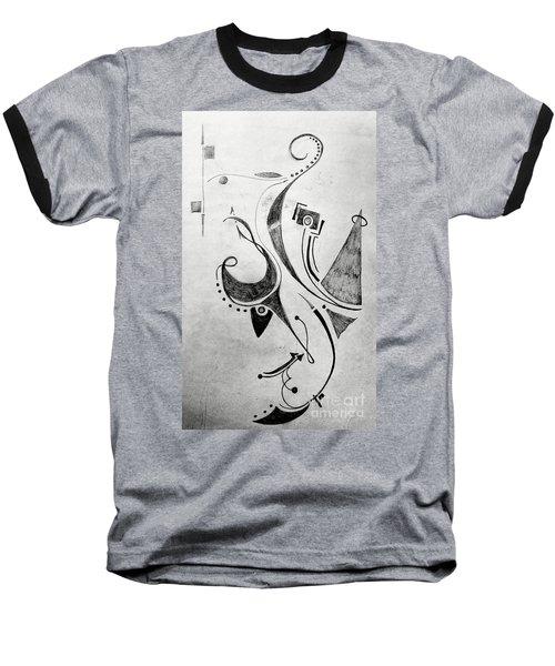 Midnight Study 1 Baseball T-Shirt