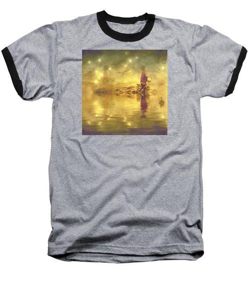 Midnight Treasure I Baseball T-Shirt