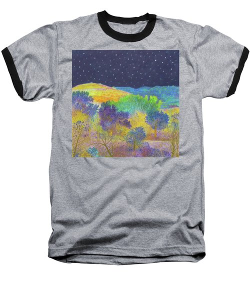 Midnight Trees Dream Baseball T-Shirt