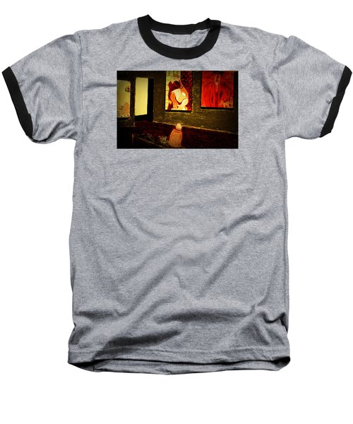 Midnight With Pablo Baseball T-Shirt