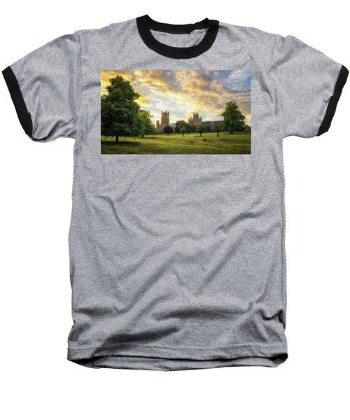Midsummer Evening In Ely Baseball T-Shirt