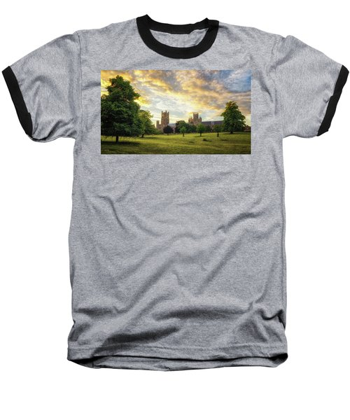 Midsummer Evening In Ely Baseball T-Shirt