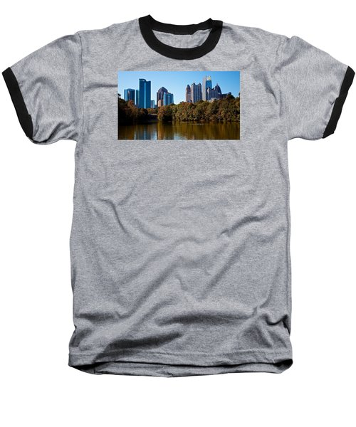 Midtown In The Fall Baseball T-Shirt