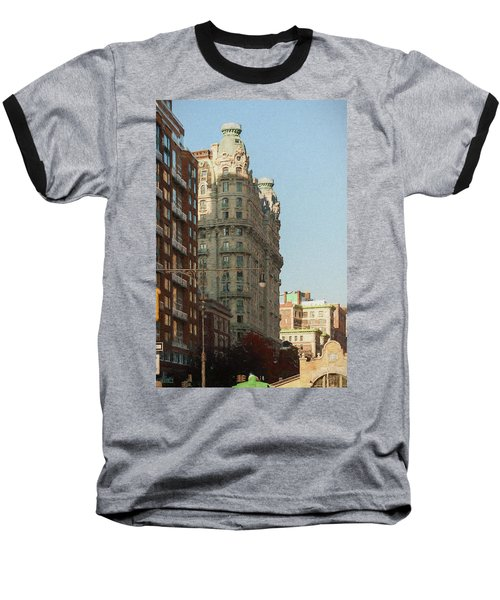 Midtown Manhattan Apartments Baseball T-Shirt