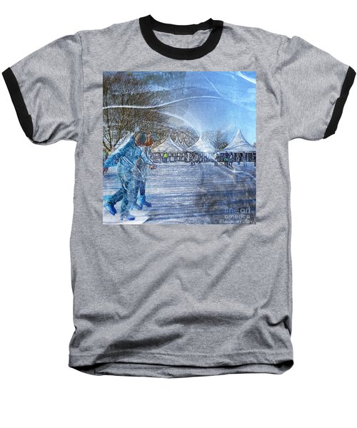 Midwinter Blues Baseball T-Shirt